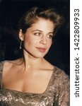 Small photo of Los Angeles, California - circa 1990: Terminator actress Linda Hamilton arriving at a celebrity event