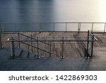 boardwalk or walkway with... | Shutterstock . vector #1422869303