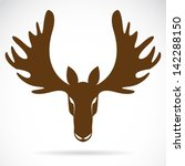 animal,antler,art,big,black,brown,buck,clip,clipart,cute,deer,design,drawing,element,eyes