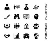 business  office  finance icons ... | Shutterstock .eps vector #1422891959