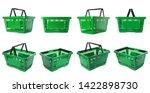 Set Of Plastic Shopping Baskets ...