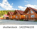 Wooden Houses Of A Small...