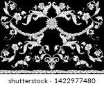 seamless pattern  background in ... | Shutterstock .eps vector #1422977480