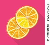 Isolated Object Of Orange And...