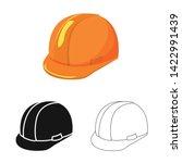 vector illustration of clothing ... | Shutterstock .eps vector #1422991439