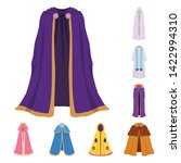 vector illustration of cloak... | Shutterstock .eps vector #1422994310
