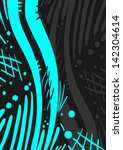 blue and dark cover | Shutterstock .eps vector #142304614