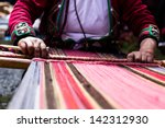 Traditional Hand Weaving In Th...