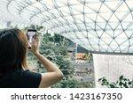 singapore may 22  2019_tourist... | Shutterstock . vector #1423167350