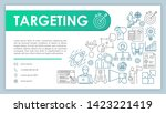 targeting banner  business card ...