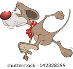 little mouse. cartoon | Shutterstock . vector #142328299