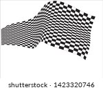 finish line vector isolated... | Shutterstock .eps vector #1423320746