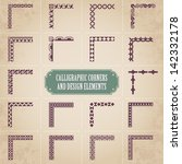 Calligraphic Corners And Desig...
