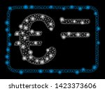 bright mesh euro account card... | Shutterstock .eps vector #1423373606