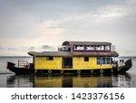 Houseboat Yellow Image With...