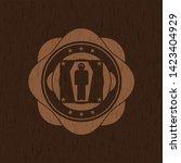 dead man in his coffin icon...   Shutterstock .eps vector #1423404929