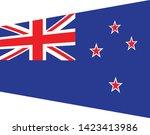 new zealand  flag. simple... | Shutterstock .eps vector #1423413986