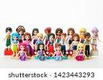 oslo   april 25  2019  lego... | Shutterstock . vector #1423443293