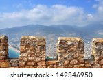turkey. alanya castle. view of... | Shutterstock . vector #142346950