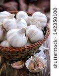garlic | Shutterstock . vector #142350100