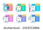 vector illustration collection... | Shutterstock .eps vector #1423513886