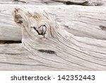 Detail Of Weathered Driftwood...