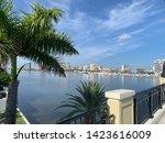 Skyline Off Flagler Drive Bridge in West Palm Beach Florida
