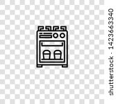 stove icon from  collection for ... | Shutterstock .eps vector #1423663340