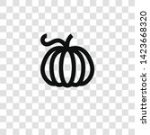 pumpkin icon from miscellaneous ... | Shutterstock .eps vector #1423668320
