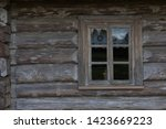 Windows Of Old Wooden Village...