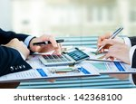 accounting. | Shutterstock . vector #142368100