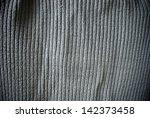gray grunge striped material... | Shutterstock . vector #142373458