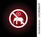 forbidden hunting elephant icon ...