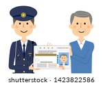 it is an illustration in which... | Shutterstock .eps vector #1423822586