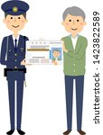 it is an illustration in which... | Shutterstock .eps vector #1423822589