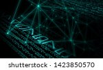 big data abstract backgrounds ... | Shutterstock . vector #1423850570