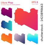 Map Of Libya With Beautiful...