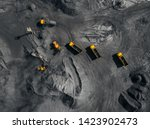 Open Pit Mine  Coal Loading In...