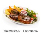 Grilled Steaks  Baked Potatoes...