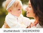 outdoor lifestyle portrait of... | Shutterstock . vector #1423924550