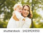 outdoor lifestyle portrait of... | Shutterstock . vector #1423924553