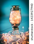 Vintage Lantern With Fairy...