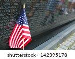 Vietnam Memorial In Washington...