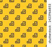 translate button pattern... | Shutterstock .eps vector #1423966853