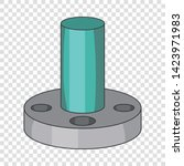 instrument detail icon. cartoon ...   Shutterstock .eps vector #1423971983