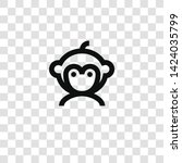 monkey icon from miscellaneous...   Shutterstock .eps vector #1424035799