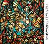 Colorful Abstract Floral...