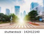 traffic of city | Shutterstock . vector #142412140