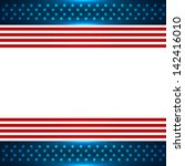 american background design with ... | Shutterstock .eps vector #142416010