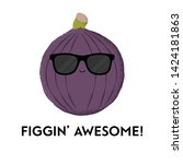 Vector Illustration Of A Fig...